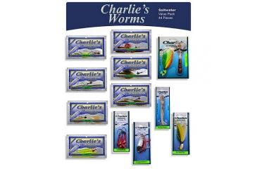Charlies Worms Saltwater Value Pack 44 Assortment 115977