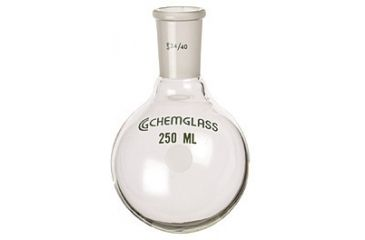 Chemglass Round-Bottom Boiling Flasks, Heavy Wall, Chemglass CG-1506-17