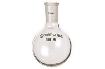 Chemglass Round-Bottom Boiling Flasks, Heavy Wall, Chemglass CG-1506-18