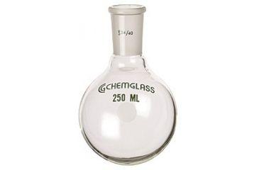 Chemglass Round-Bottom Boiling Flasks, Heavy Wall, Chemglass CG-1506-84