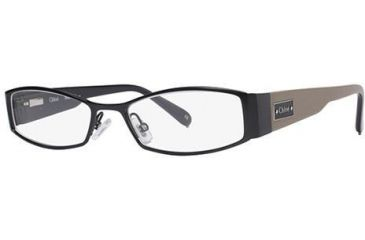 Chloe CL1154 Bifocal Prescription Eyeglasses - Frame Black/Mole, Size 51/18mm CL115401