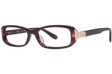 Chloe CL1175 Eyeglass Frames - Frame Brown Horn, Size 52/15mm CL117502