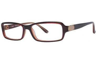 Chloe CL1194 Progressive Prescription Eyeglasses - Frame Red/Brick, Size 53/14mm CL119402