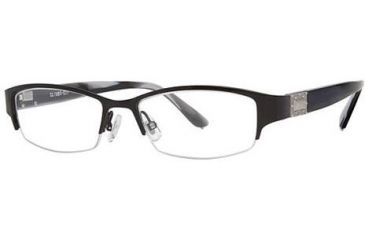 Chloe CL1223 Single Vision Prescription Eyeglasses - Frame Black CL122301