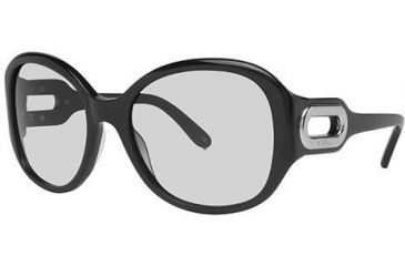 Chloe CL2193A Sunglasses - Frame Black, Lens Color Gradient Grey, Size 57/19mm CL2193A01