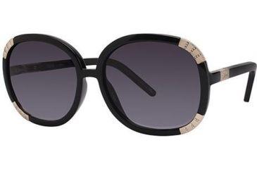 Chloe CL2219 Sunglasses - Frame Black, Lens Color Grey CL221901