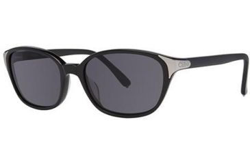 Chloe CL2250 Sunglasses - Frame Black, Lens Color Solid Grey CL225001