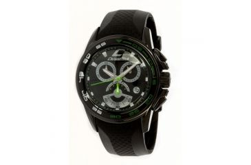 Chronotech Active Speed  Watch - Black Rubber Band, Black Face Ct.7140m/05