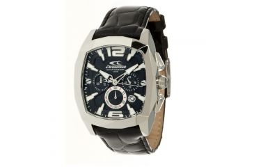 Chronotech Natural Cut  Watch - Black Band, Black Face Ct.7115m/02