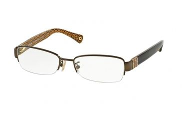 3ccad6c97fd Coach CECILY HC5027B Eyeglass Frames 9094-50 - Dark Brown dark Tortoise  Frame