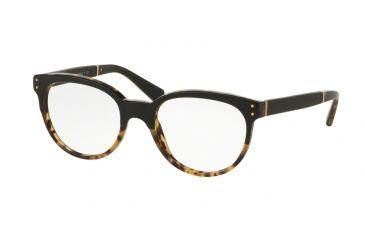 8c7f3852928f Coach HC6084Q Eyeglass Frames 5382-52 - Black Tortoise Black Frame