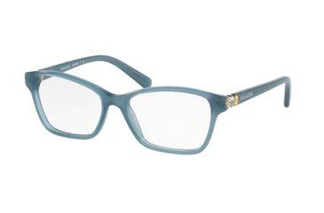 8498b99d7a Coach HC6091BF Single Vision Prescription Eyeglasses 5399-53 - Milky Blue  Frame