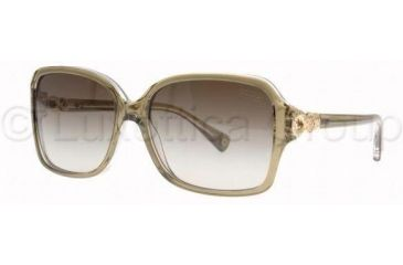 4c61ddb2382e6 Coach L020 FRANCES HC8009 Sunglasses 50508E-5715 - Olive Crystal Green  Gradient
