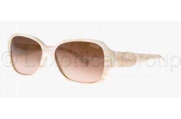 32124646f88 ... greece coach l022 reese hc8011b sunglasses 500513 5715 ivory cream  brown gradient 058cb e629e ...