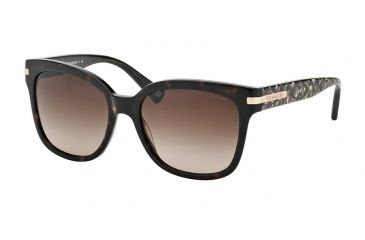 c91b1961374 Coach L080 ALFIE HC8103 Sunglasses 522713-55 - Dark Tortoise Beige Ocelot  Sig C