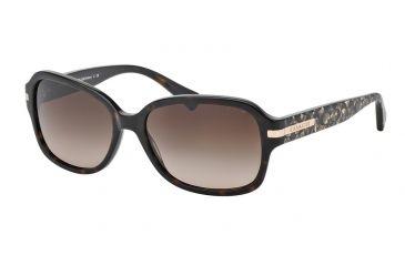 146f80ebd4 Coach L082 AMBER HC8105 Sunglasses 522713-58 - Dark Tortoise Beige Ocelot  Sig C