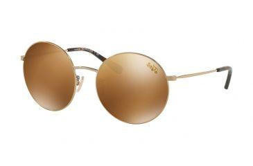 fc192bd85f Coach L1012 HC7078 Sunglasses 92936H-56 - Shiny Light Gold Frame