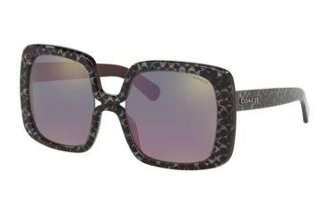 9b7217f1c281 Coach L1038 HC8245 Prescription Sunglasses HC8245-55185R-56 - Lens Diameter  56 mm,
