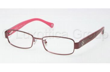 Coach TARYN HC5001 Progressive Prescription Eyeglasses 9022-5016 - Burgundy