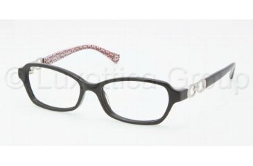 Coach VANESSA HC6017 Progressive Prescription Eyeglasses 5034-5015 - Black