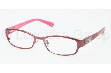 Coach Eyeglass Frames Burgundy : Coach WILLOW HC5007 Eyeglass Frames