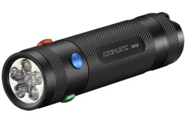 Coast TX10 Quad Color LED Flashlight