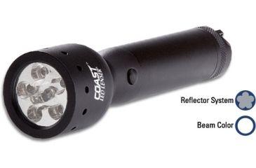 Coast V2 6 Chip Flashlight General Use Light LL1006