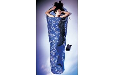Cocoon Cotton Mummy Sleeping Bag Liner, White 316124