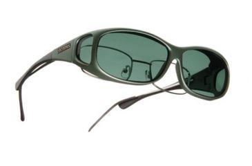 Cocoons Mini Slim Over-the-Glasses Sunglasses, MS Ivy Frame, Gray Lenses C411G