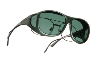 Cocoons Pilot Over-Glasses Sunglasses, L Ivy Frame, Gray Lenses C301G