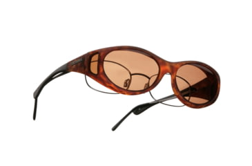 Cocoons Streamline OveRx Sunglasses, SM Tort Frame, Copper Lenses C607C