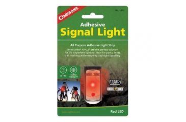 Coghlans Adhesive Signal Light, Red, 125 Mcd, 80 hr. Runtime 189421