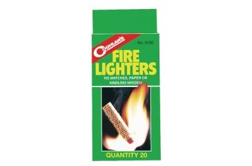 Coghlans Fire Lighters 20 Per Package 0150