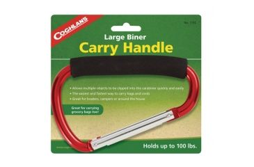 Coghlans Large Biner Carry Handle Holds 100 Pounds