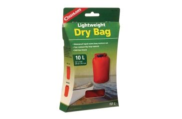 Coghlans Lightweight Dry Bag 7.5x15 Inches Red