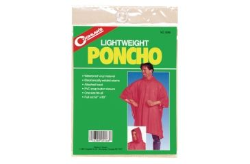 Coghlans Lightweight Poncho Orange 9267