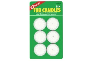 Coghlans Tub Candles Six Pack 8509