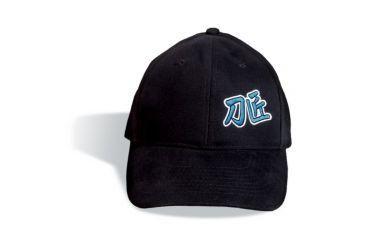 Cold Steel Embroidered Hat, Black, Black, OSFA 94HCSK