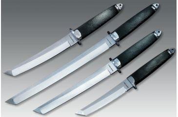 Cold Steel Magnum Tanto XII, Kraton Handle, Plain Edge, Leather Sheath, Fixed Blade 13MBXII