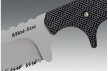 Cold Steel Mini Tac, Tanto, Serrated 49HTFS