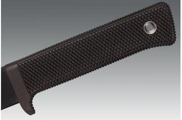 Cold Steel Recon Tanto, Kraton Handle, Black Blade, Plain, Secure-Ex Sheath 13RTK