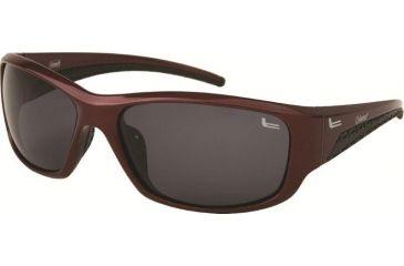 Coleman 6017 Single Vision Prescription Sunglasses - Burgundy Frame CC1 6017-C1RX