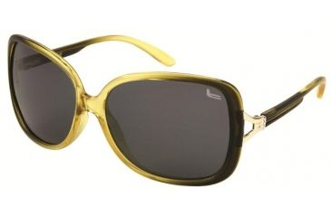 Coleman 6020 Polarized Sunglasses - Yellow Frame, Black Lenses CC1 6020-C3