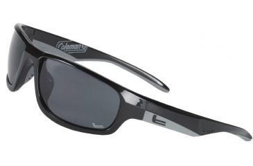 Coleman Cooler Sunglasses - Black Frame and Smoke Lens 842749031095