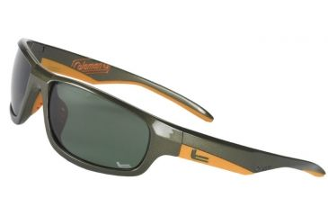 Coleman Cooler Sunglasses - Green Frame and Green Lens 842749031088