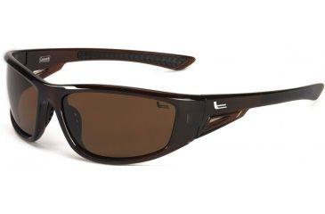 Coleman Highlander Sunglasses - Brown Frame and Brown Lens 842749030623