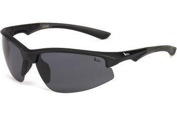 Coleman Magnum Sunglasses - Black Frame and White Flash Lens 842749030876