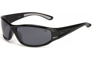Coleman Snapper Sunglasses - Black Frame and Smoke Lens 842749031163