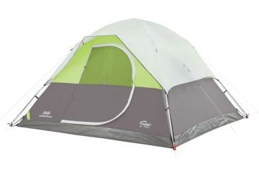 Coleman spenglen 6-Person Instant Dome Tent Gray / Green 2000018245  sc 1 st  Optics Planet & Coleman Aspenglen Instant Dome Tent | 19% Off w/ Free Shipping and ...