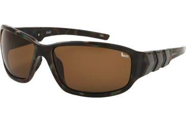 Coleman TR90 Fashion 6504 Progressive Prescription Sunglasses - Green Tortoise Shell Frame CC2 6504-C3PROG